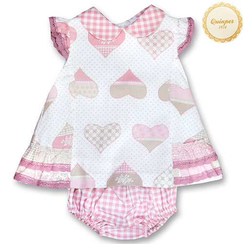 Quinper Pink Heart Dress